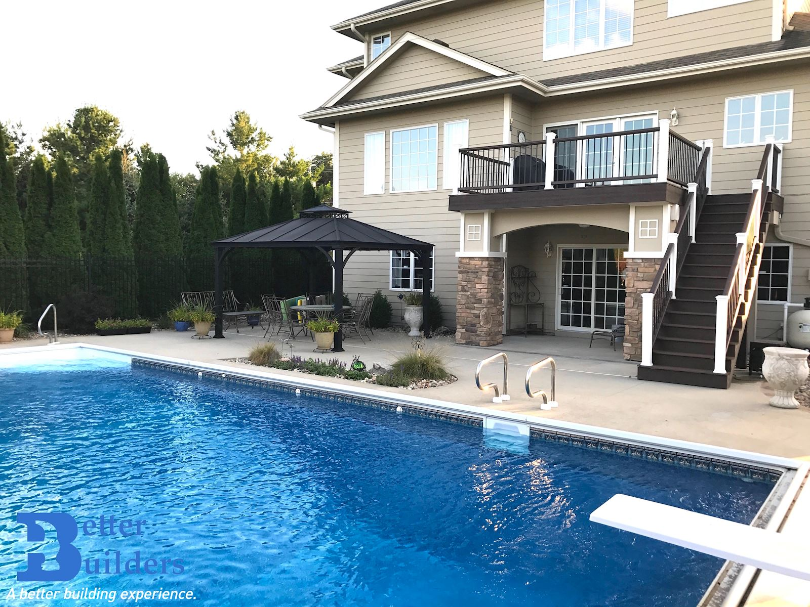 Custom Poolside Retreat - Johnston, IA