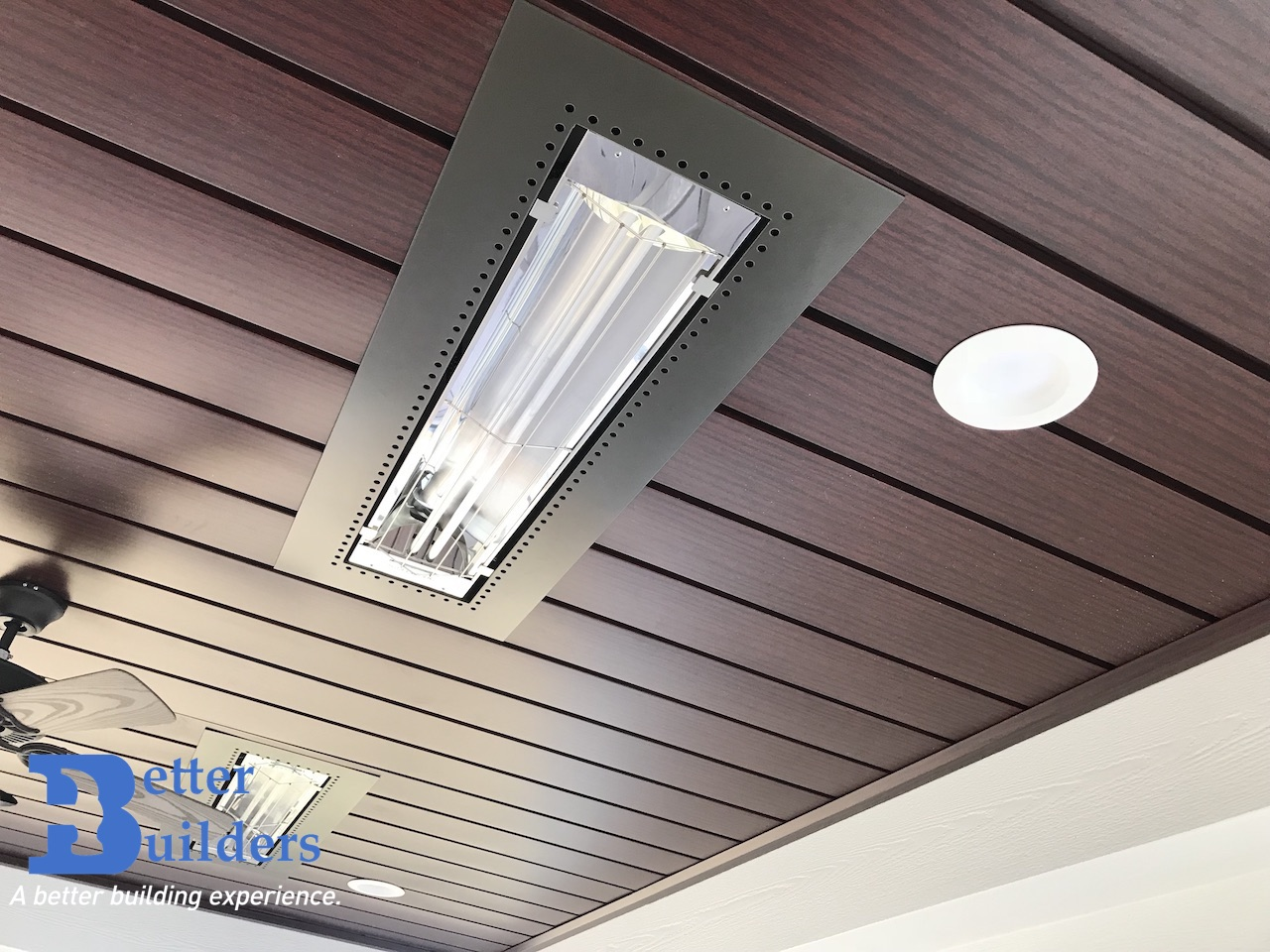 Heaters on with Inside Out ceiling