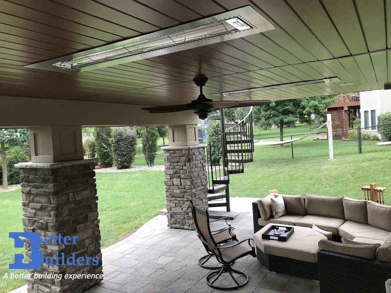 Heaters with Quality Edge Soffit